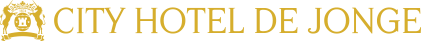City Hotel de Jonge Assen Logo